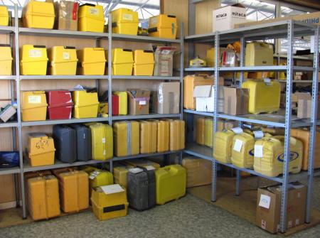 Una zona dedicata a riporre tutte le strumentazioni laser adatte a favorirvi una migliore assistenzaLaser assistenza
