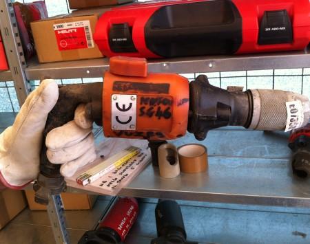 Martello perforatore pneumatico manuale Sclaverano SG46C